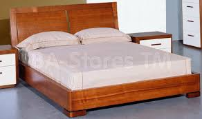 Teak Wood Modern Bed Designs Maya Platform Bed In Teak 738 00 Furniture Store Shipped Free