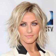shag haircuts for fine or thin hair julianne hough hairstyle with shaggy bob fine har and highlighted
