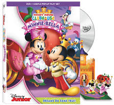 mickey mouse clubhouse minnie rella dvd today free