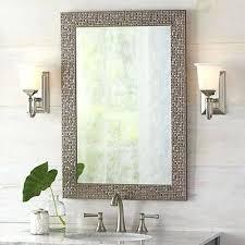 Frameless Bathroom Mirror Wall Mirrors Vanity Mirrors Bathroom Mirror Wall Lights Uk
