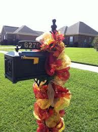premium fall or thanksgiving deco mesh wreath with burlap pumpkins