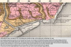 Wessex England Map by Beaulieu River Estuary Solent Part Of Geology Of The Wessex