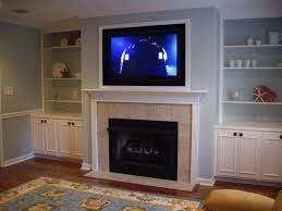 modern tv wall units with fireplace contemporary above stand