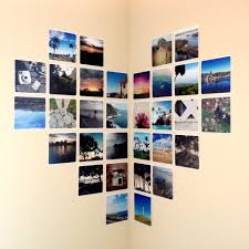 How To Hang Fabric On Walls Without Nails by Photo Wall Collage Without Frames 17 Layout Ideas