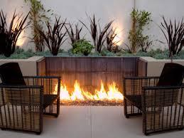 unique fire pits ideas 11 unique black outdoor chairs feat concrete planting