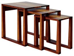 Modern Nesting End Tables With Image 8 Of 19 Carehouse Info