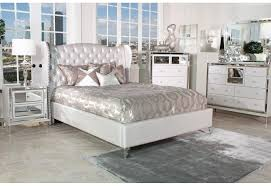 Michael Amini Furniture Used Buy Hollywood Swank Bedroom Set In Creamy Pearl Finish By Aico