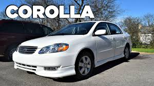 2005 toyota corolla review 2004 toyota corolla s in depth review start up engine tour