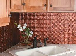 Interior  Beautiful Copper Backsplash Strong Decor Copper - Copper backsplash