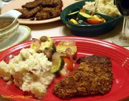 cuisine texane chicken fried steak a tradition
