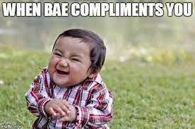 Bae Meme - evil toddler meme imgflip
