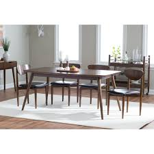 modern dining room table and chairs mid century modern dining room furniture tags wonderful mid
