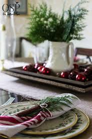 Christmas Table Settings Ideas Christmas Table Setting Ideas On Sutton Place