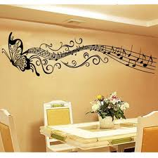 Music Note Home Decor Online Buy Wholesale Music Note Wall Decals From China Music Note