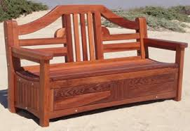 Redwood Shower Bench Outdoor Wooden Benches