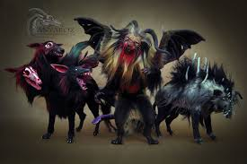 spirit halloween cerberus room guardians from anya boz are the cuddliest protectors armorbelle
