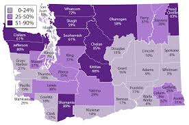 Washington State Map With Counties by Jlarc Report Economic Impact Of Public Lands