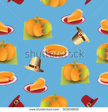 thanksgiving material pumpkin pie on thanksgiving day thanksgiving stock vector