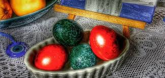 easter egg dye throw away that chemical egg dye minaki uses onions cabbage