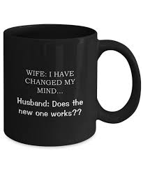Gifts For Your Wife I Love My Wife Mug Black Mug For Wife 11 U0026 15 Oz Ceramic