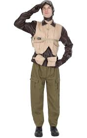 100 mile pilot size womens costume fancy dress costumes