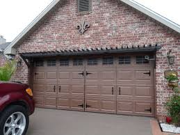 Design Ideas For Garage Door Makeover Garage Door Looks Great With Hardware Garage Design Ideas