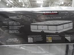Memory Foam Mattress Costco Kirkland Signature Sterns And Foster San Remo Mattress