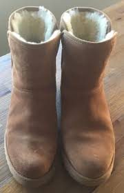 womens ugg kristin boot ugg kristin suede chestnut brown mini boot womens size 6 what s