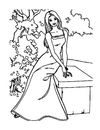 lets dress up doll coloring pages coloring sky
