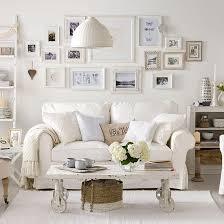 Inspiration On The Horizon White On White Coastal Decor - Shabby chic beach house interior design