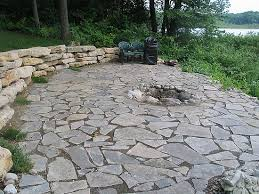Flagstone Firepit Flagstone Patios And Walkways In Southeast Michigan