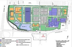 file site plan of the mackenzie vaughan hospital jpg wikipedia