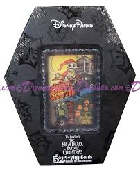 dizdude com disney world 52 playing cards the nightmare before