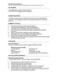 resume objective sample paralegal cover letter www intended for 17