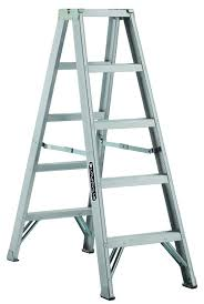 louisville am1005 aluminum twin step ladder jpg