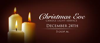 candle light service 5 00 p m the new church of