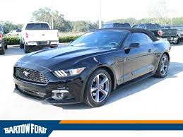 pre owned ford mustang convertible pre owned 2015 ford mustang v6 2d convertible in bartow t13485pb