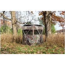 Ground Blind Reviews Barronett Big Mike With Vents Hunting Blind 667311 Ground