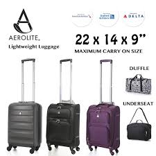 Luggage United Airlines 22x14x9