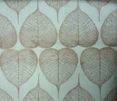 Pds Upholstery Avon Fabrics Pds 1518 C Pds 1518 Organza Sheer Fossil Leaf Print