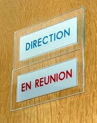 plaque porte bureau kellersign communication graphique visuelle