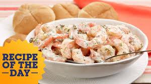 ina garten s shrimp salad barefoot contessa recipe of the day ina s roasted shrimp salad food network youtube