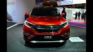 Honda Crv Diesel Usa Honda Cr V 2015 Paris Motor Show 2014 Youtube