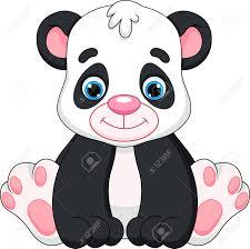 cute baby panda cartoon royalty free cliparts vectors and stock