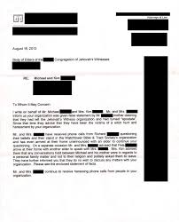 Cease And Desist Harassment Letter Template How To Disfellowship Two People With Zero Proof Help Advice