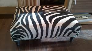 Zebra Ottoman Animal Print Ottomans Magnificent Animal Print Storage Ottoman