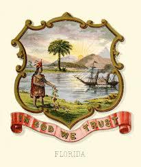 Florida State Flag Image File Florida State Coat Of Arms Illustrated 1876 Jpg Wikipedia