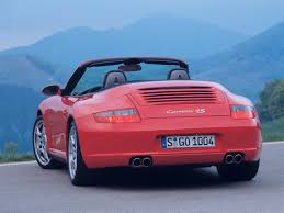 porsche 911 convertible 2005 2006 porsche 911 carrera 4s cabriolet rear 1280x960 wallpaper