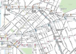 Mta Map Subway There Are Free Transfers Between The New York Subway And The