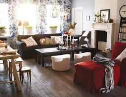 Black Living Room Furniture Sets Red Pattern Fabric Arm Sofa Sets Small Living Room Ideas Ikea